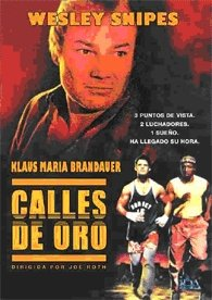 The Spanish DVD version of Streets of Gold