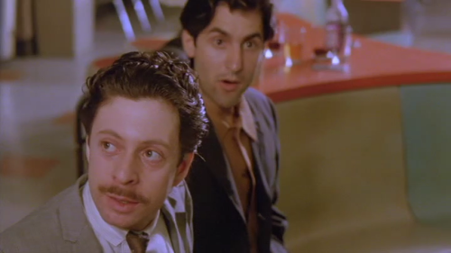 Left: The first Obligatory Richard Price Cameo