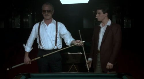 Paul Newman and Tom Cruise in The Color of Money