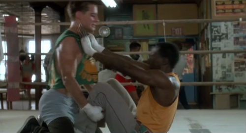 Adrian Pasdar and Wesley Snipes in Streets of Gold