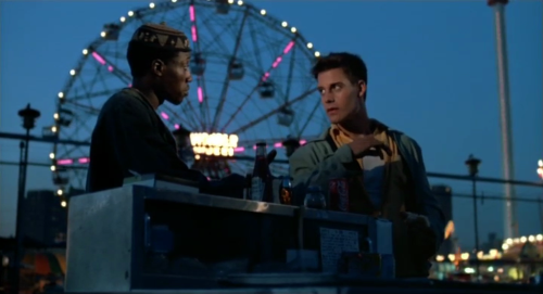 Wesley Snipes and Adrian Pasdar in Streets of Gold