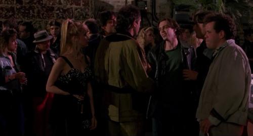 "Mark Boone Junior (far left) as ""Hank"""