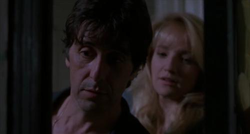 Al Pacino and Ellen Barkin in Sea of Love