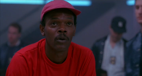 "Samuel L. Jackson as ""Black Guy"""