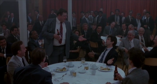 John Goodman and Al Pacino in Sea of Love