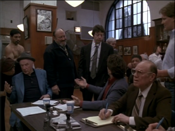 Night and the City's Obligatory Richard Price Cameo (center, with stethoscope)