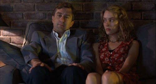 """Mad Dog"" (Robert De Niro) and Glory (Uma Thurman)"