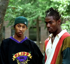 Fredro Starr and Hassan Johnson in Clockers