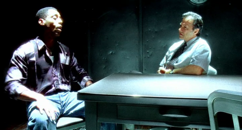 The interrogation room in Clockers