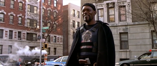 Samuel L. Jackson as John Shaft, NYPD