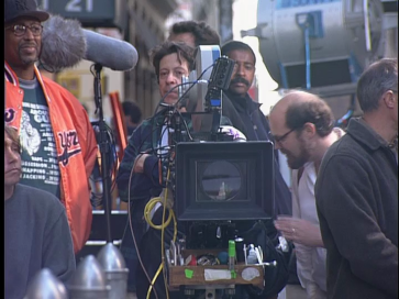 Richard Price (behind and to left of camera)