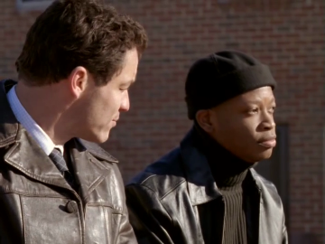 Dominic West and Larry Gilliard Jr. on The Wire